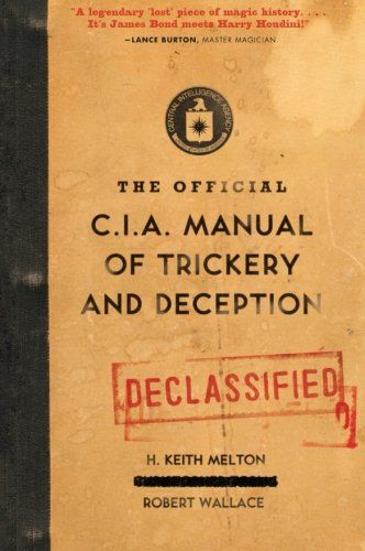 Download Pdf The Official Cia Manual Of Trickery And Deception