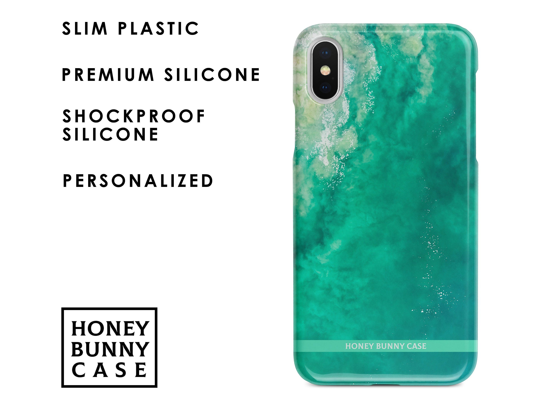 Aqua marble iphone xr case green marble iphone xr case