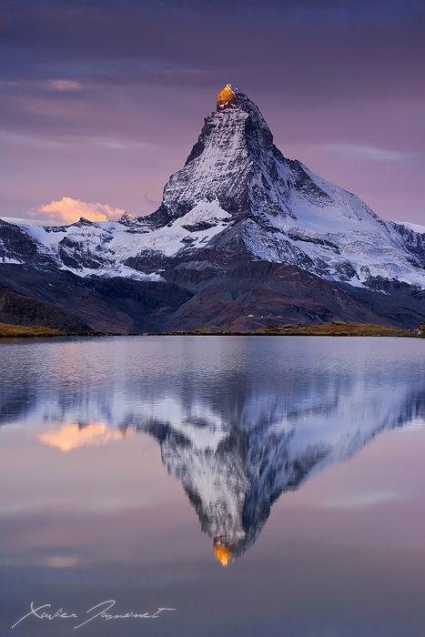 Mount Matterhorn in Switzerland