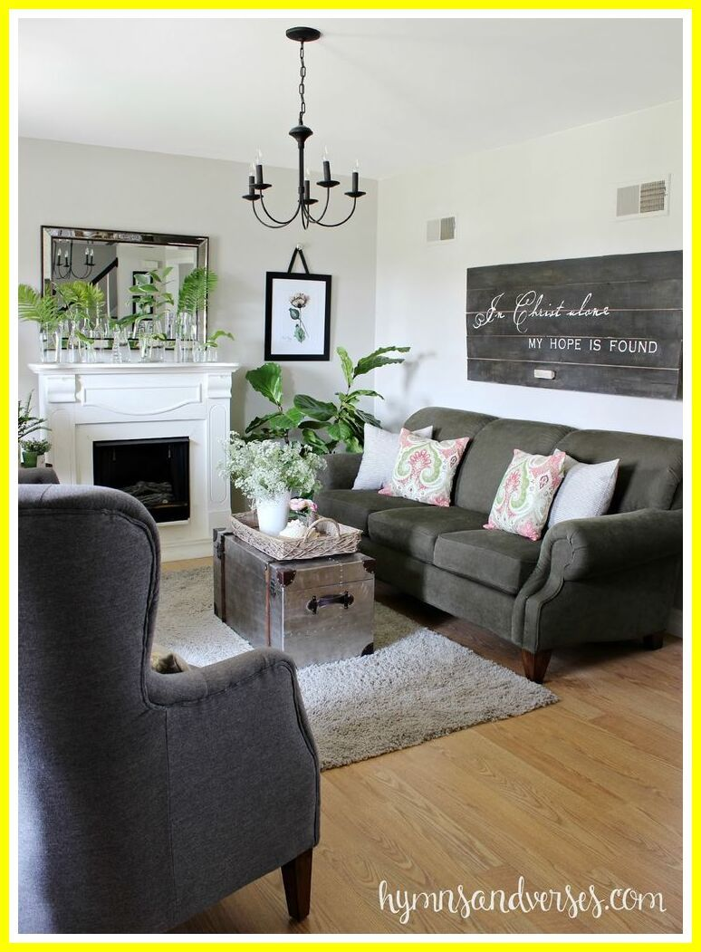 82 Reference Of Grey Couch Farmhouse In 2020 Dark Grey Couch Living Room Dark Grey Sofa Living Room Grey Sofa Living Room