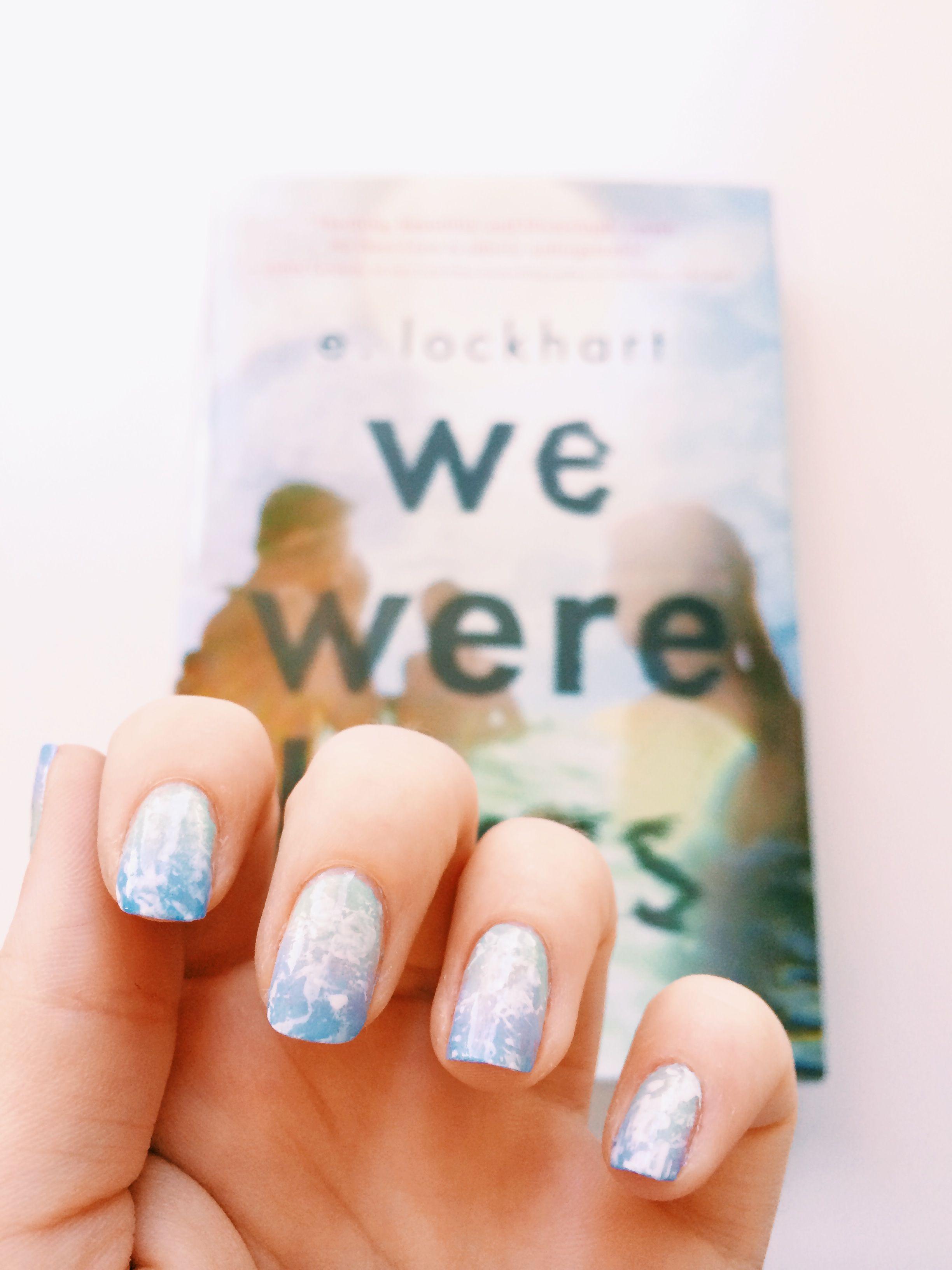 Liar liar polish on fire manicure nails nail art