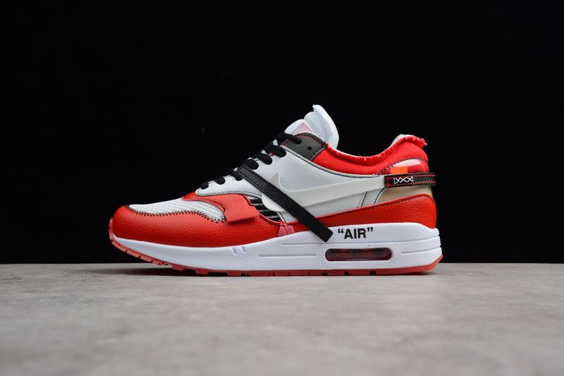 b8ee2f83cee9 NIKE AIR MAX 1 87 X OFF WHITE CHICAGO WHITE RED BLACK Price   124