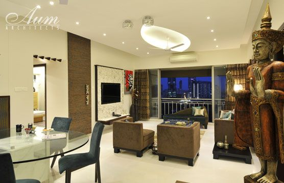 Architecture And Interior Design Projects In India 3bhk Apartment At Ashok Tower Mumbai Manish Interior Design Interior Design Projects Apartment Interior