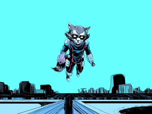 Marvel Rocket Raccoon