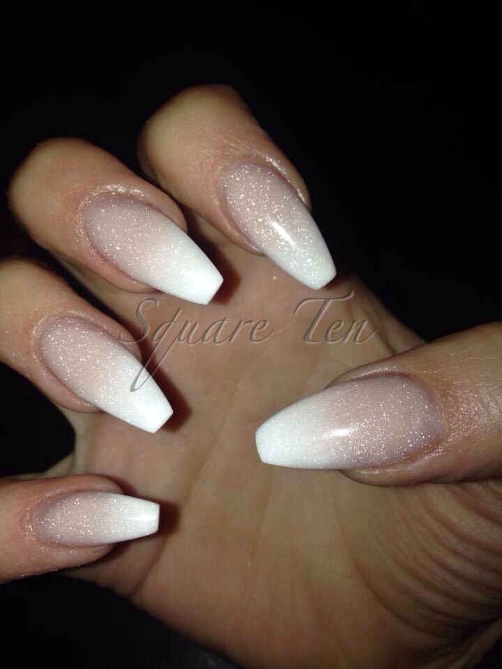 Baby Boomers By Square Ten Nailss Nails Ballerina Nails