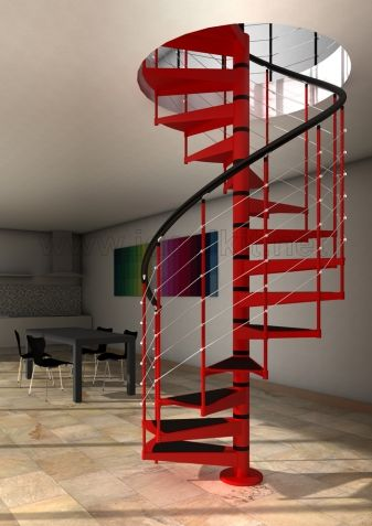 Escalera de caracol akua de escalera de - Escalera caracol prefabricada ...