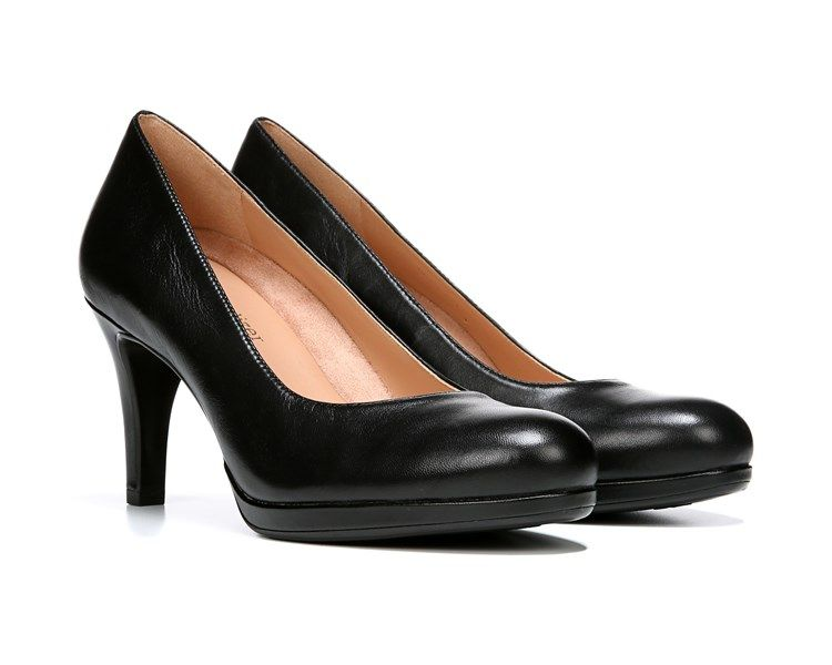 c6210a8b879 Naturalizer Michelle Black Leather
