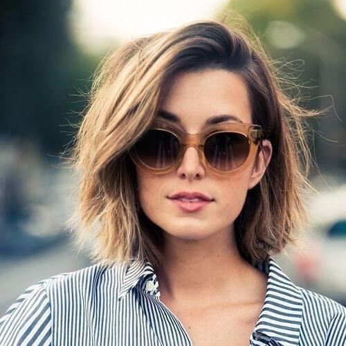 Neueste Wartungsarme Kurze Frisuren Für Dicke Haare Für Einige
