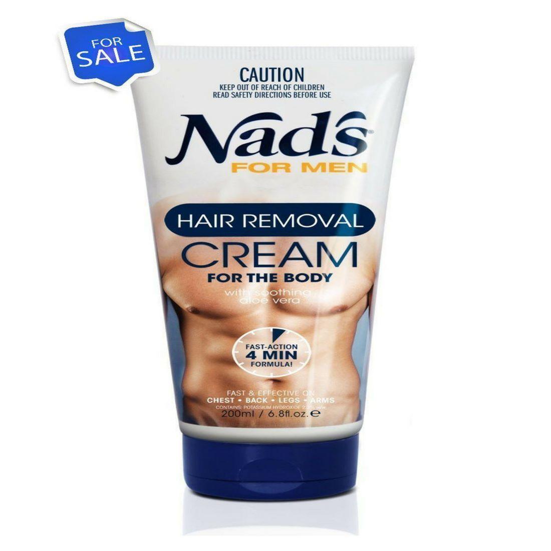 hårborttagningsmedel för män