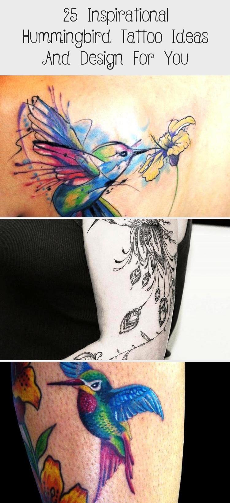 Design Hummingbird ideas Inspirational Tattoo 25