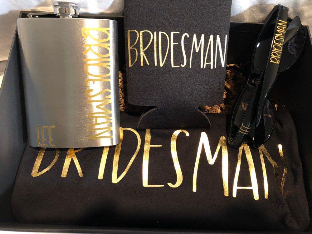 Bridesman proposal Bridesman Gift Bridesman Proposal Box