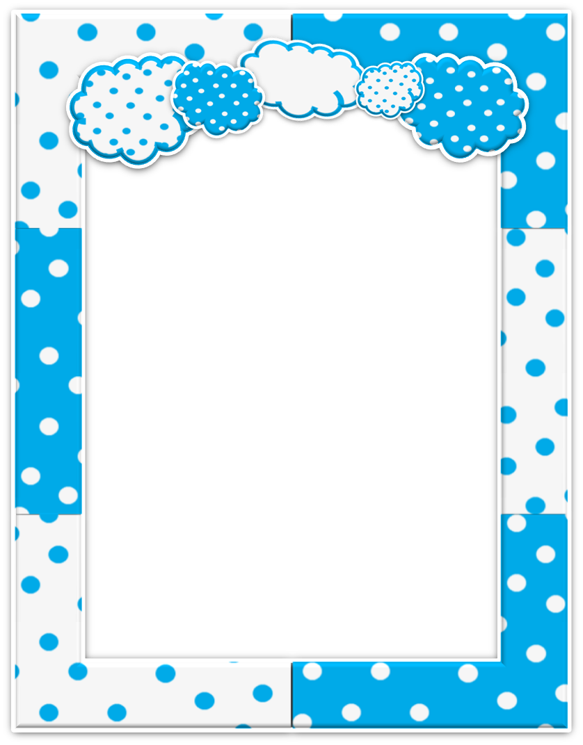 Cloudy Free Printable Kit. | Marcos/Frame | Pinterest | Nubes ...
