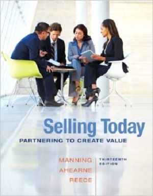 Free test bank for selling today partnering to create value 13th free test bank for selling today partnering to create value 13th edition by manning helps students understand the value of developing their personal selling fandeluxe Image collections