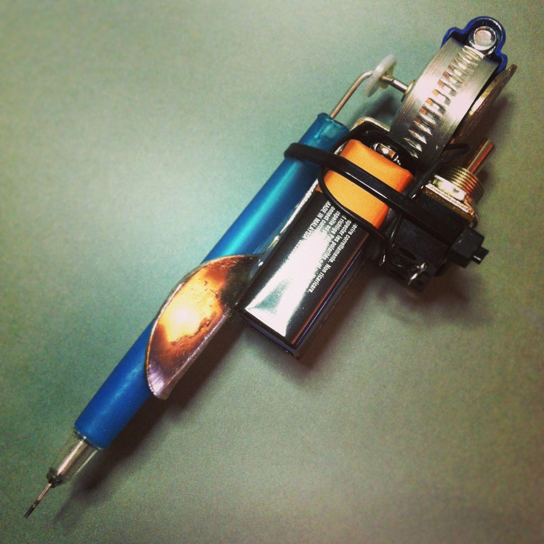 Pin on homemade tattoo guns