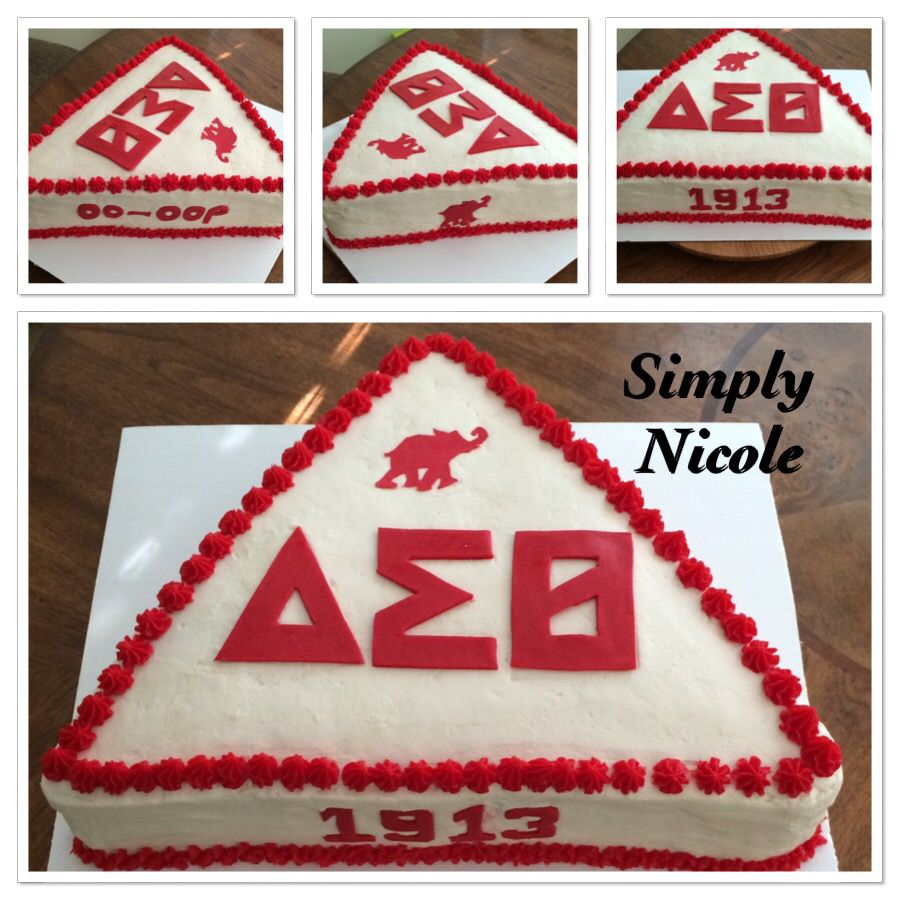 I really enjoyed making this delta sigma theta cake i cut out the i really enjoyed making this delta sigma theta cake i cut out the numbers and biocorpaavc Image collections