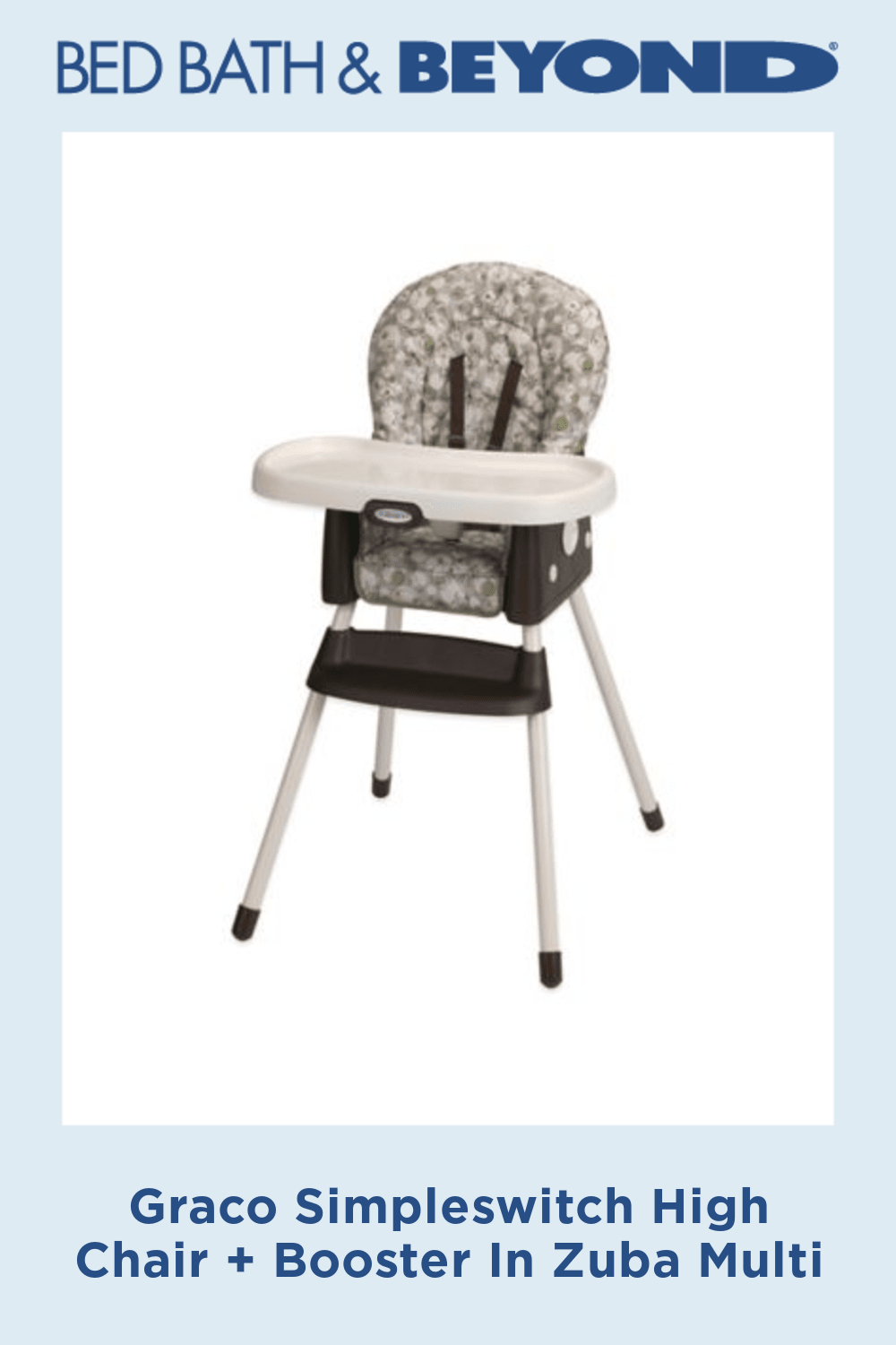 Graco Simpleswitch High Chair Booster In Zuba With Images