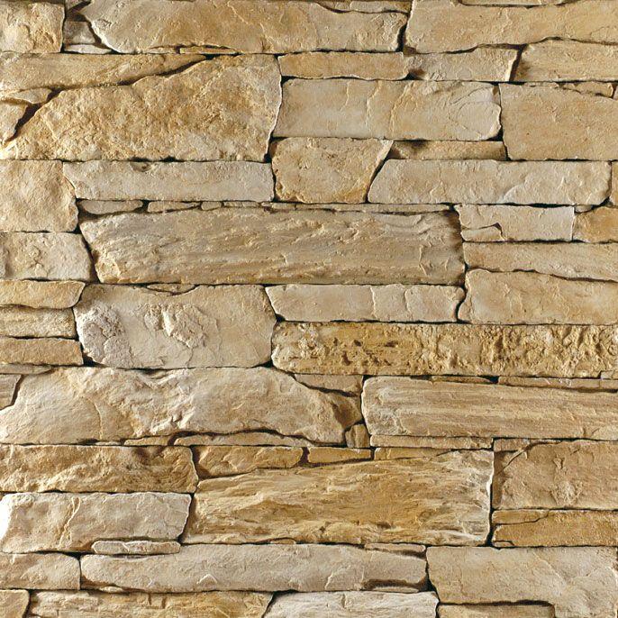 Steinwand verblender wandverkleidung steinoptik isola champagne - Steinwand verblender ...