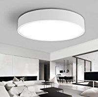 Wohnzimmerlampe Decke Lampe Wohnzimmer Weiß Deckenlampe Schlafzimmerlampe  Led Modern Rund Badlampe Leuchten Zimmerlampe Für Schlafzimmer Bad