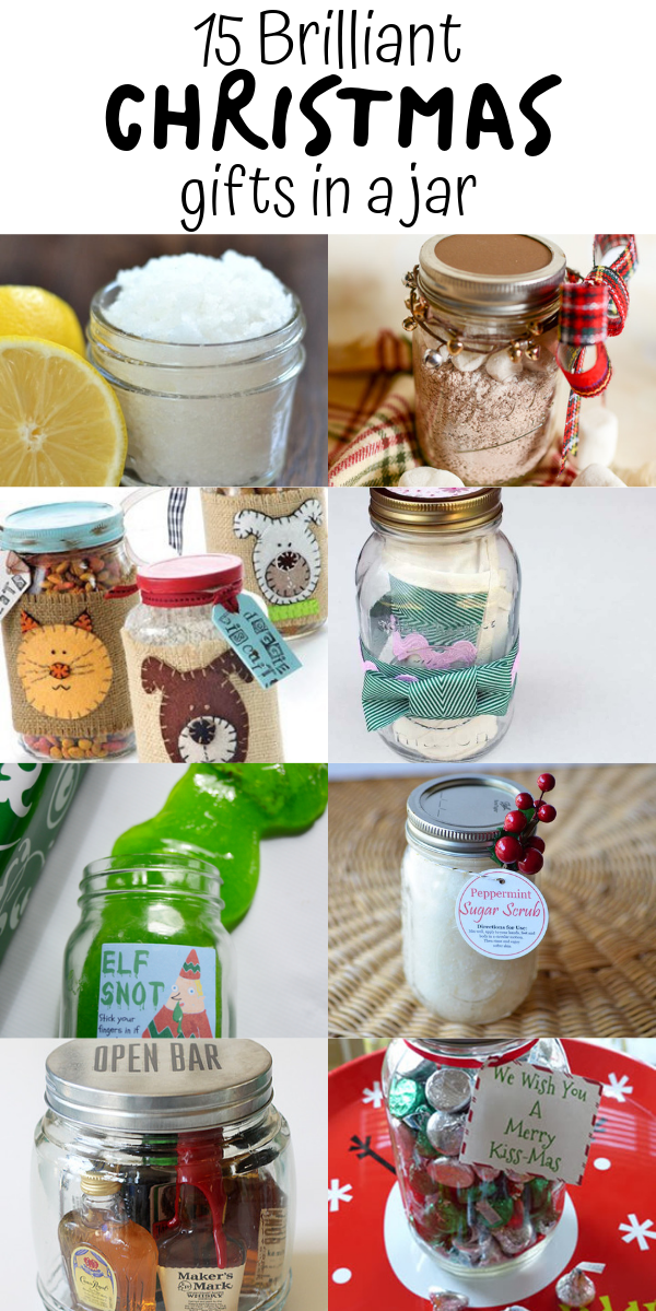 15 DIY Christmas Gifts In A Jar - Mason Jar Christmas Gifts For Everyone On Your List