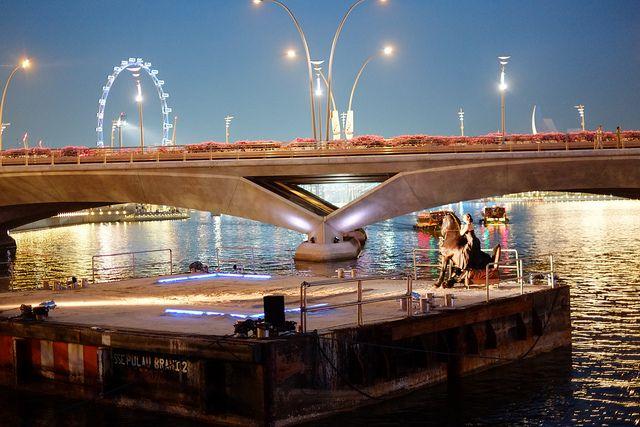 Centaur on a Chair on a Floating Platform | Singapore Arts Festival 2012