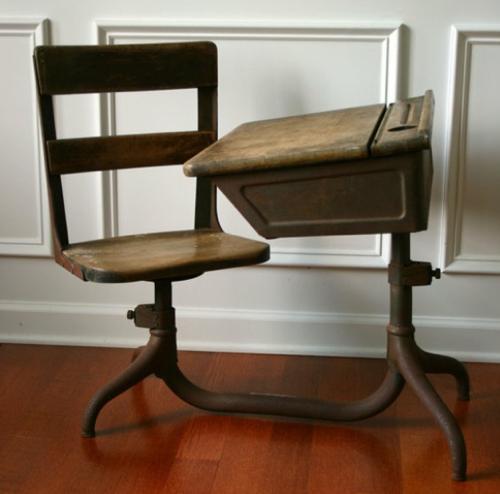 png - 500x494 - Antiques For Antique School Desk Cast Iron Legs Www.antiqueslink.com