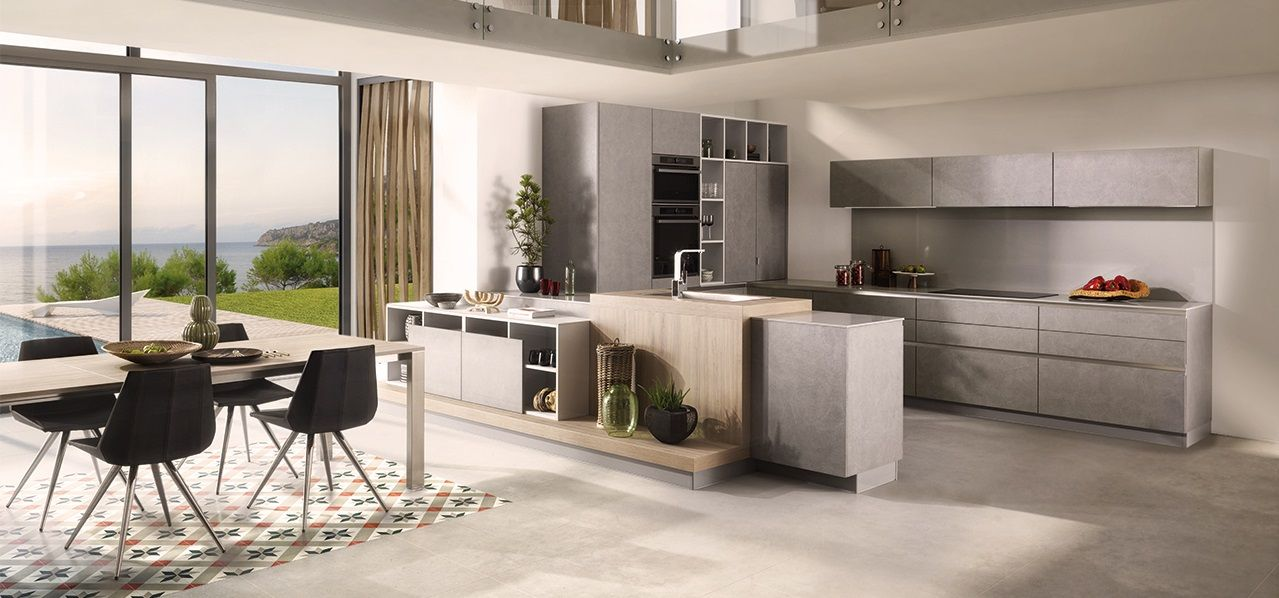 Kitchen Design - Striped gloss - Arcos edition Kitchen decor