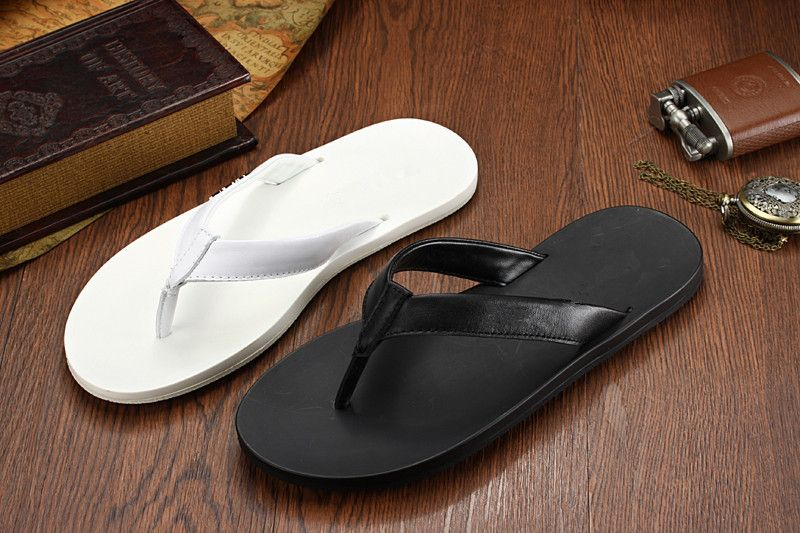bda66333ab9f Find More Men s Sandals Information about Wholesale 2015 New Coming Men  Flats Comfortable Summer Slippers Shoes