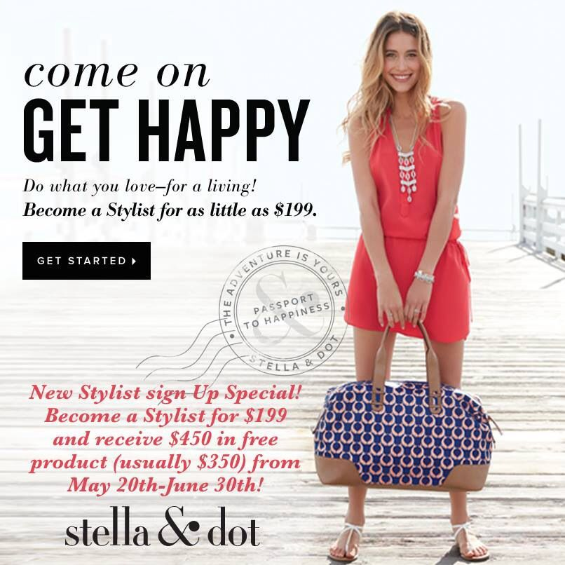 Launch your own business in June and get $450 of FREE product.  www.stelladot.com/sites/marcyev