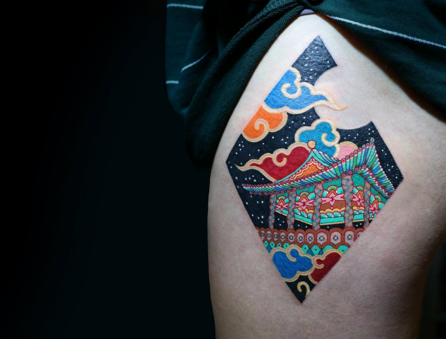 A Korean Twist On Iconic Fine Art Pitta Kkm Tattoos With Images