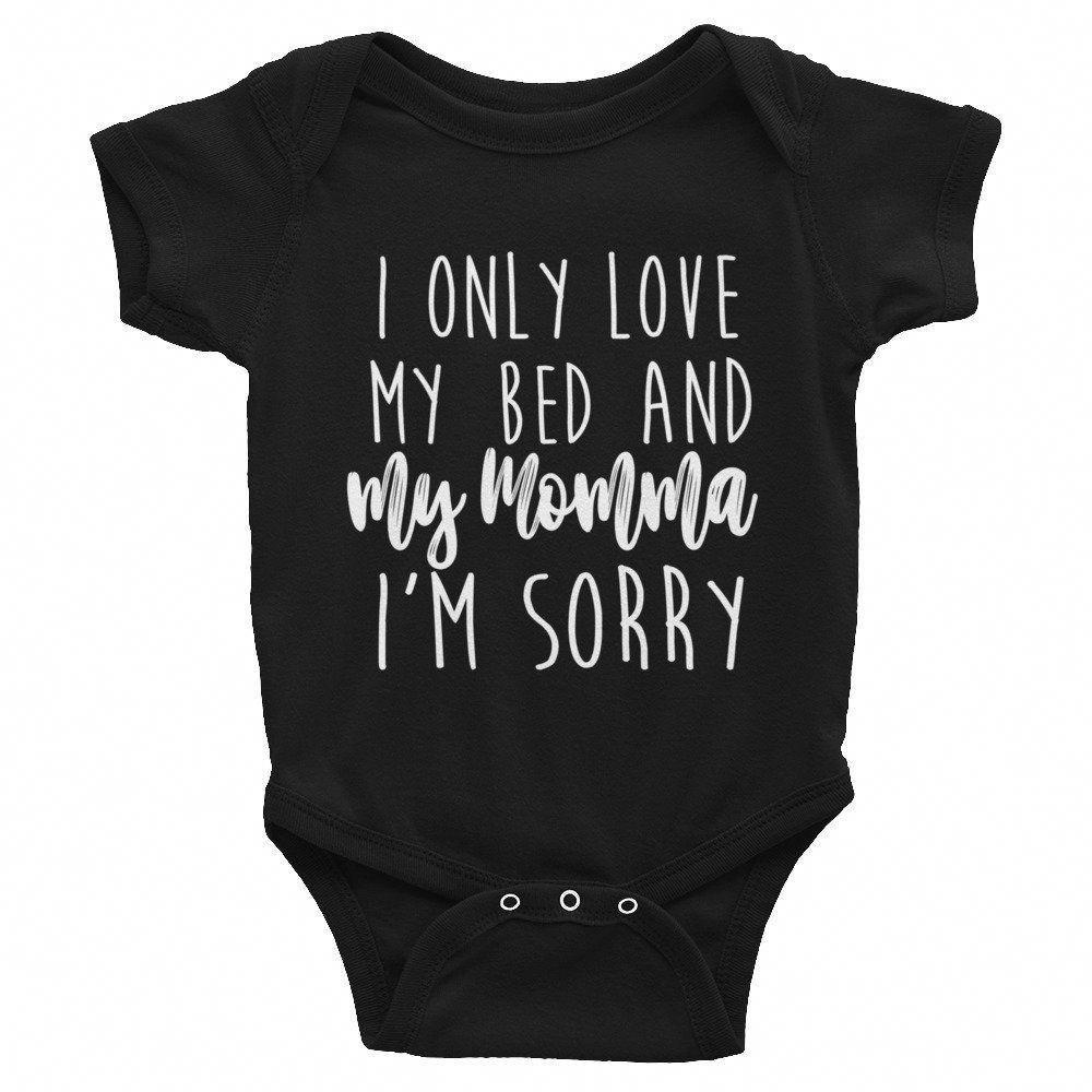 Infant Bodysuit Sorry I/'m Cute Baby Onesie