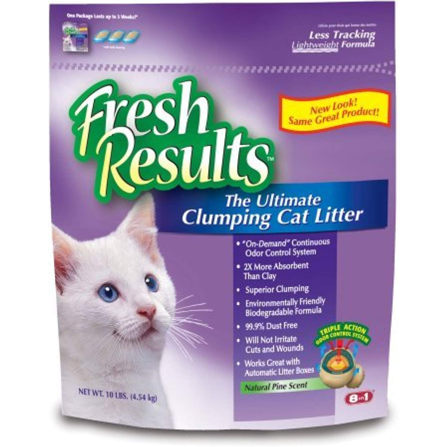 Fresh Results Ultimate Clumping Cat Litter, 20 lb * See