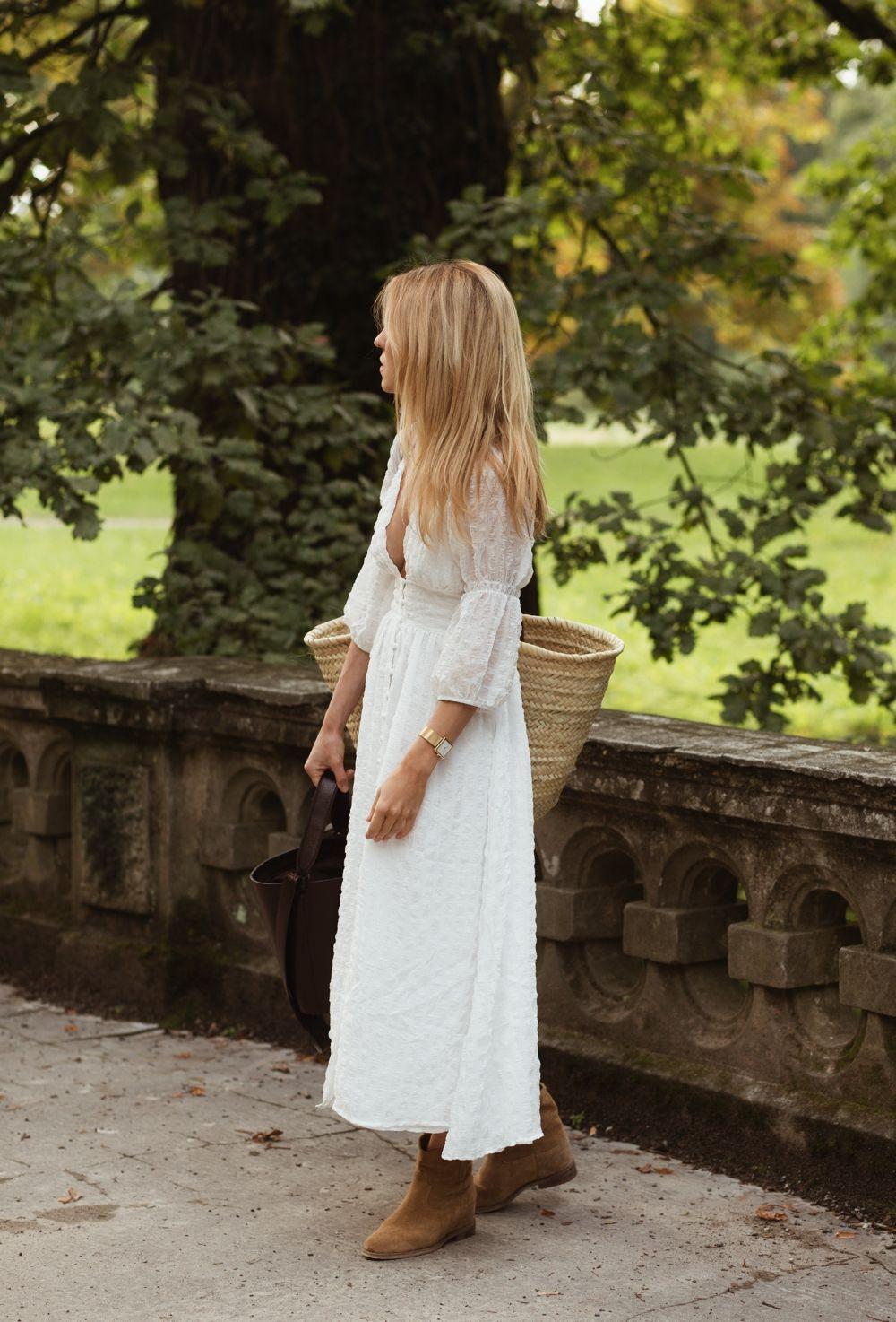 Look Of The Day Dziewczyna Boho Na Pensji Czyli Piknik Pod Wiszaca Skala Na Upalny Sierpniowy Wieczor Isabel Marant Style Casual Winter Outfits Style