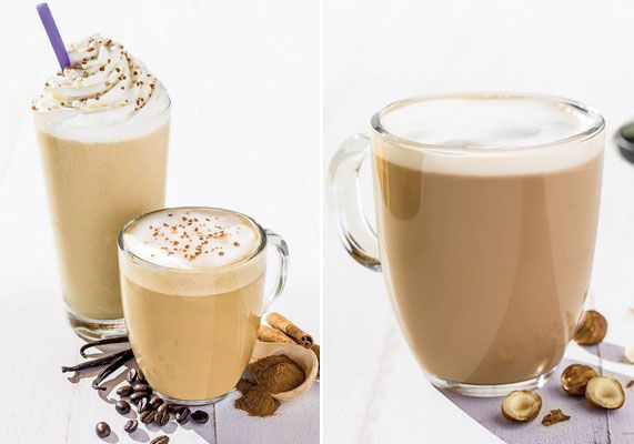 Coffee Bean Tea Leaf The New Horchata Ice Blended And Horchata Latte Feature A Blend Of Rice Cinnamon Vanill Coffee Decor Espresso Beans Honey And Cinnamon
