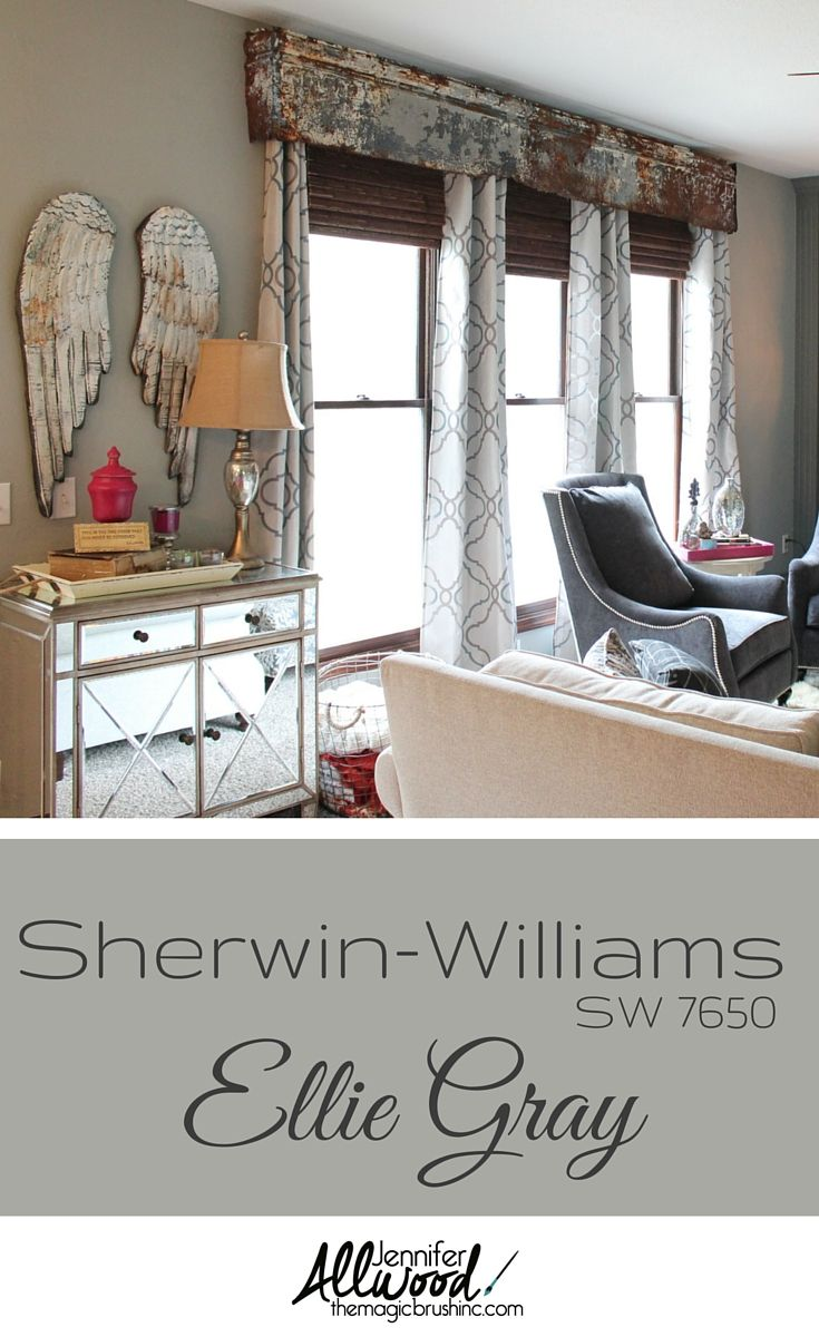Beautiful Gray Now In Our Living Room    Sherwin Williams Ellie Gray More Painting  Tips