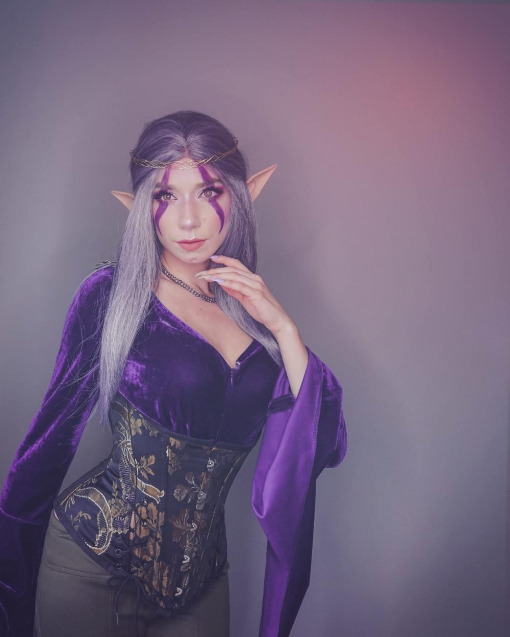 How To Get To Darnassus For 2020 Halloween Lady of Darnassus   Night Elf World of Warcraft   Aubrey Busek