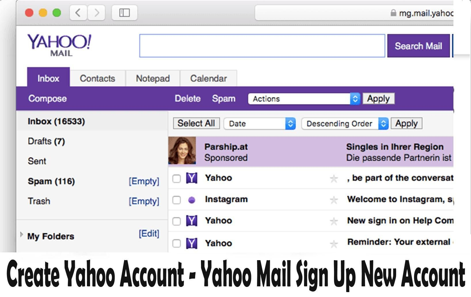 For Any Users To Have Access To Any Yahoo Account Login Details