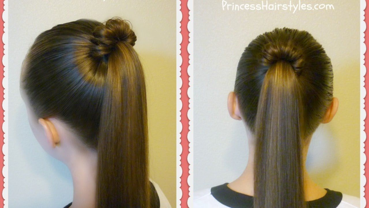 Spindle top ponytail quick and easy hairstyles beauty stuff