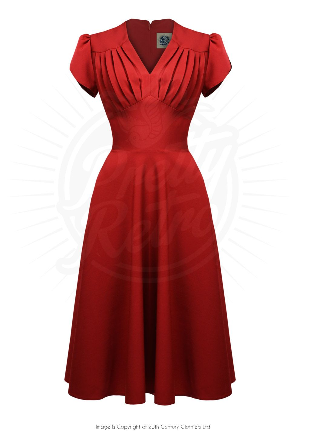 Red dress 50s style jukebox