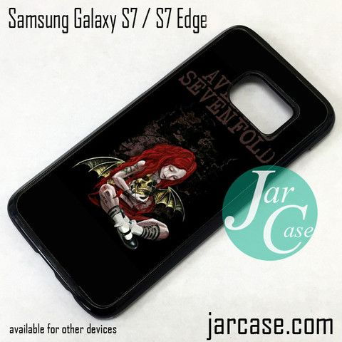 Avenged Sevenfold 4 Phone Case for Samsung Galaxy S7 & S7 Edge
