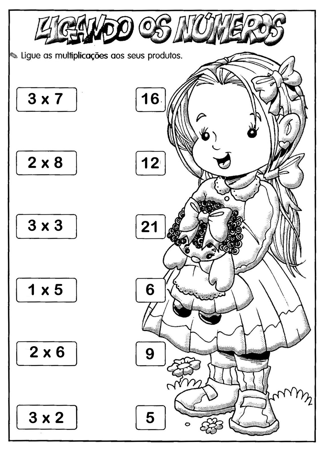 37 Atividades Educativas De Multiplicacao Com Imagens