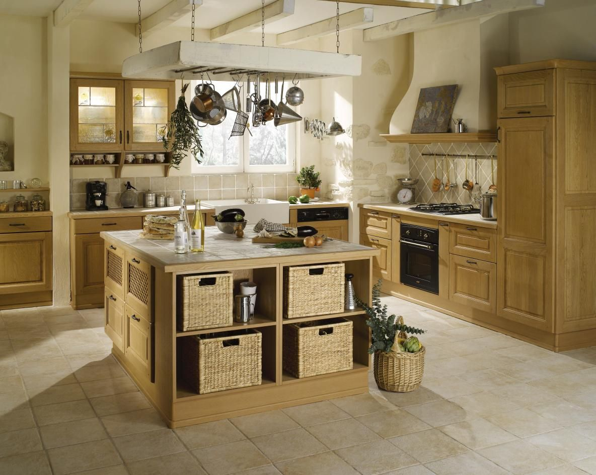 Pingl par camille d sur cuisines pinterest - Modele cuisine campagne ...