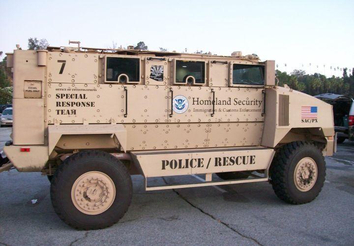 Army surplus vehicles california