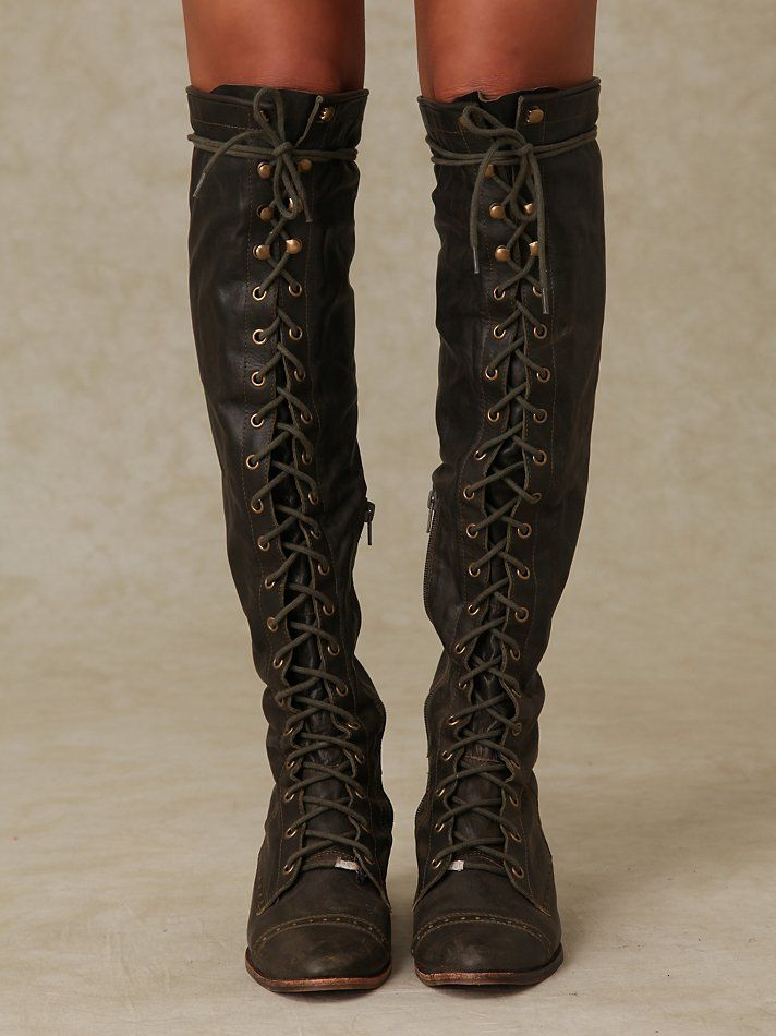dc5dc4b091e Jeffrey Campbell Joe Lace Up Boot at Free People Clothing Boutique ...