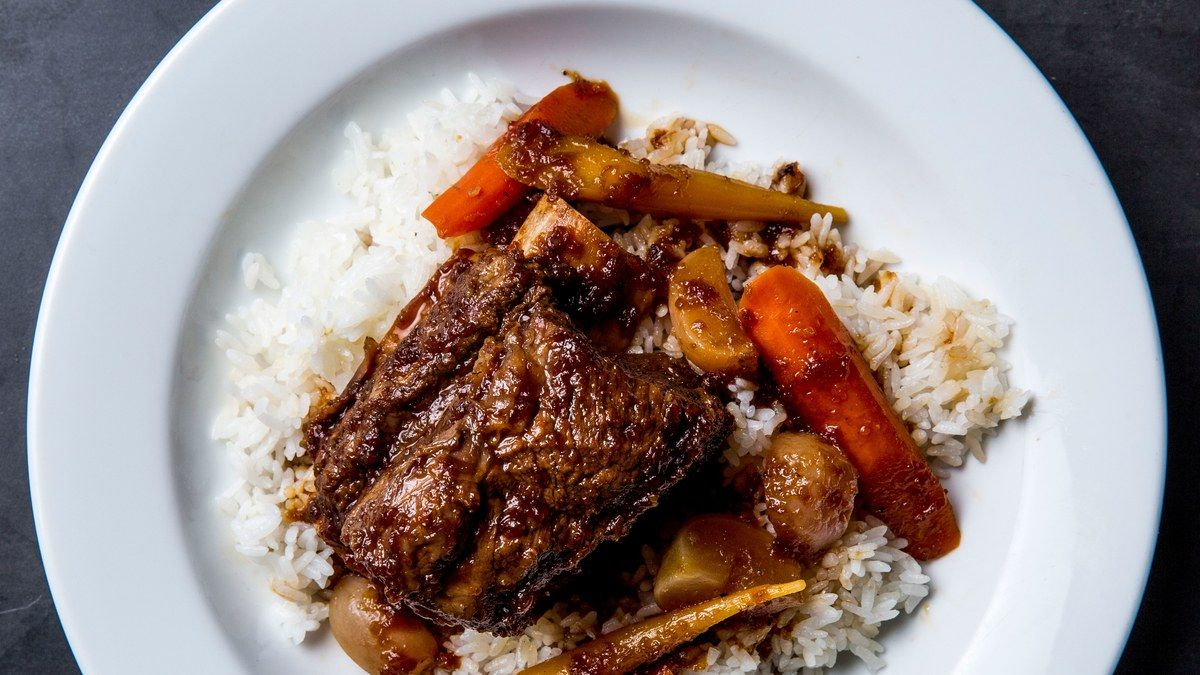 Assistant web editor Christina Chaey finally learns the secret to the braised short ribs her grandma only makes her once a year.