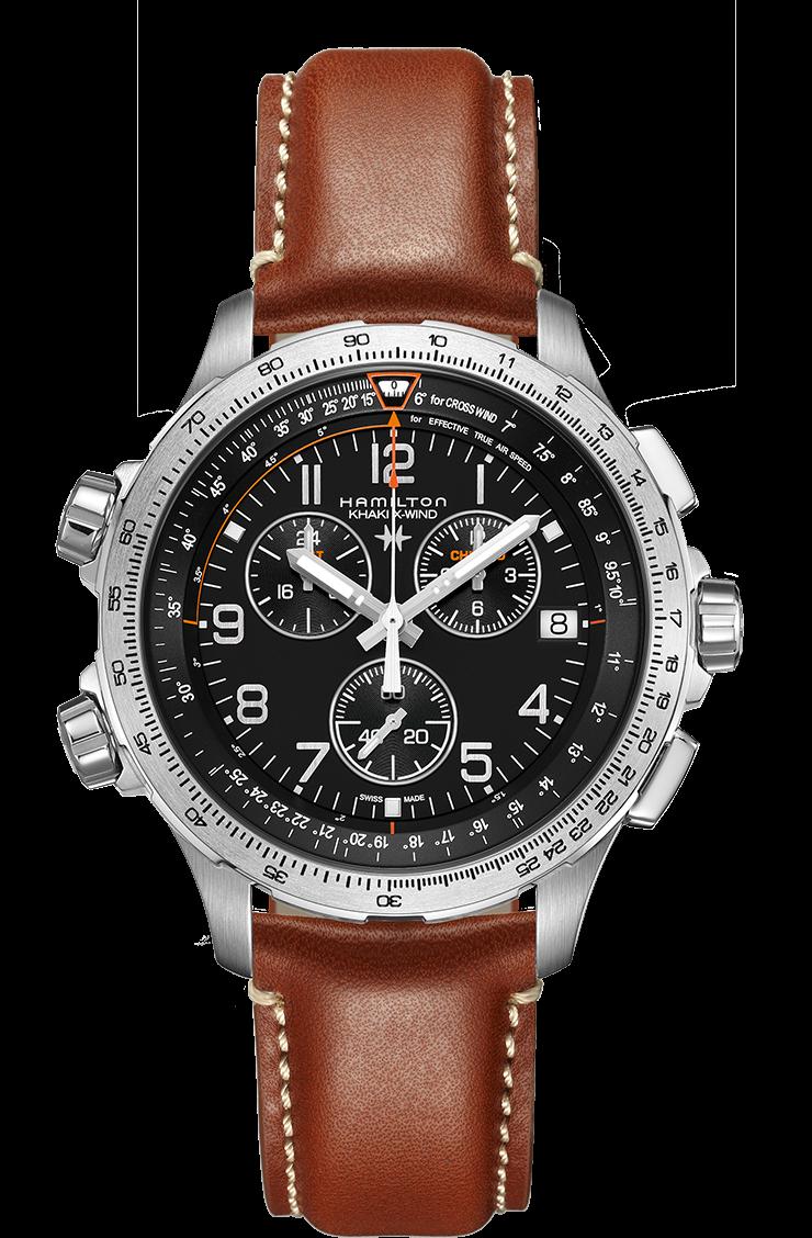 e8f0538f721 Hamilton Khaki Aviation X-Wind Chrono Quartz GMT