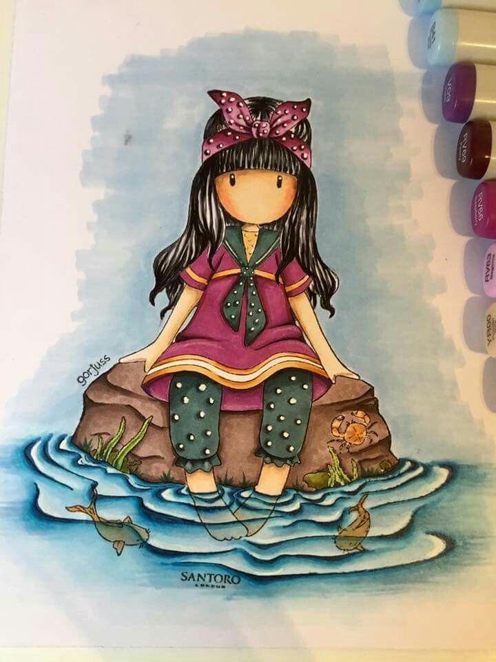 820 Gorjuss Girls Santoro Ideas In 2021 Cards Cards Handmade Inspirational Cards