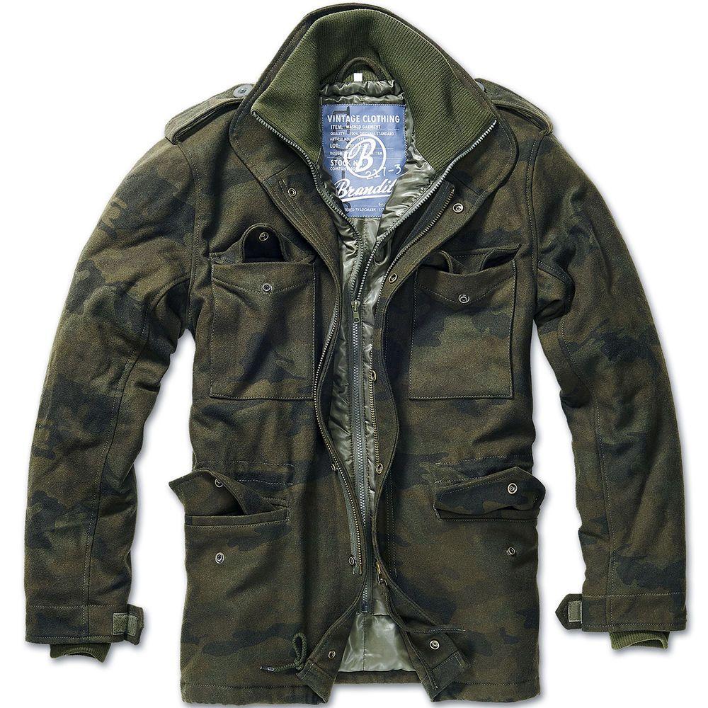 Details about Brandit Classic M65 Mens Field Jacket Warm