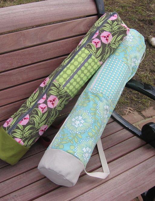 Zippered Yoga Mat Pattern 163 6 Sewing Yoga Mat Bag Yoga