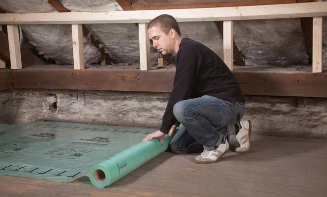 Dampfbremse Dachboden, Dach dämmen und Dämmung dach