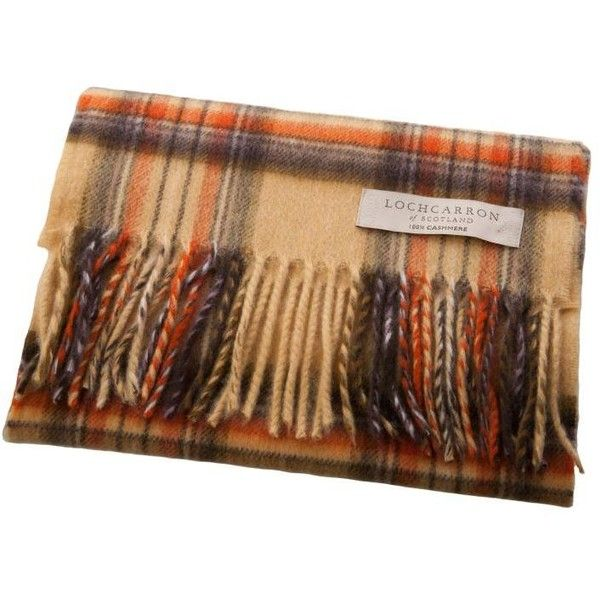 Lochcarron Pure Cashmere Scarf Made In Scotland Set 1 Stewart Honey (€110) ❤ liked on Polyvore featuring accessories, scarves, cashmere shawl and cashmere scarves